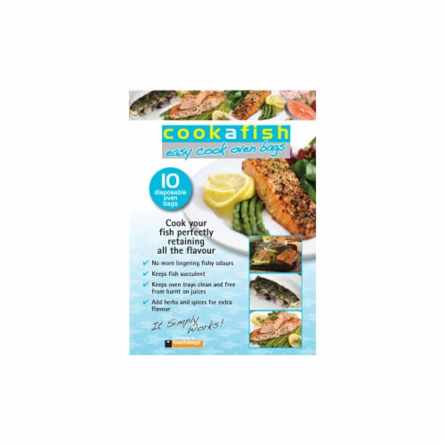 Planit Cookafish Easy Cook Disposable Oven Bags Perspective: front