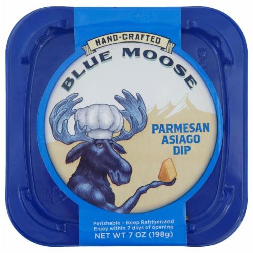 Blue Moose of Boulder Hand Crafted Parmesan Asiago Dip Perspective: front