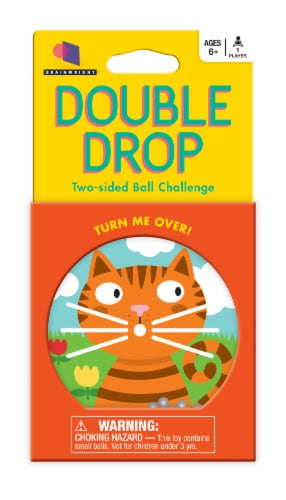 Double Drop Two Sided Ball Challenge Perspective: front