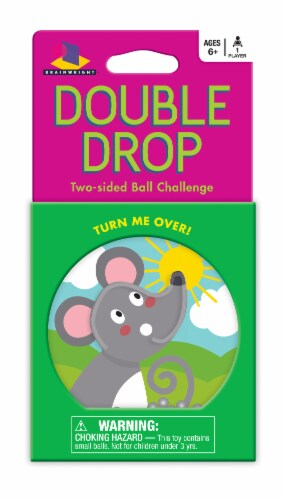 Doubloe Drop Mouse Two Sided Ball Challenge Game Perspective: front