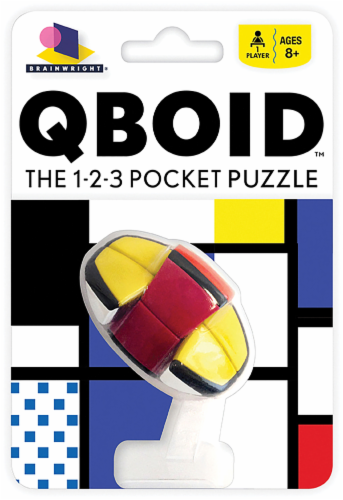 Brainwright Qboid Pocket Puzzle Perspective: front