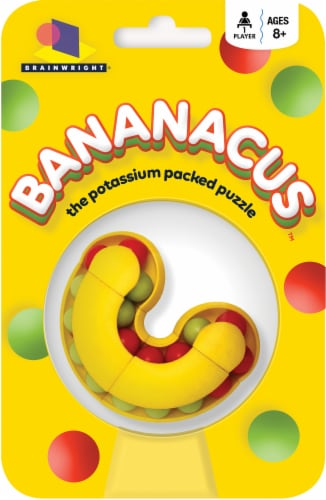 Brainwright Bananacus Potassium Packed Puzzle Perspective: front