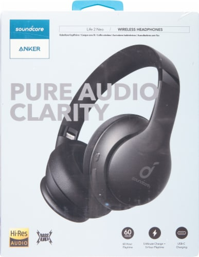 Anker Soundcore Life 2 Neo Over-Ear Headphones Perspective: front