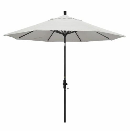 California Umbrella 9' Patio Umbrella in Canvas Perspective: front