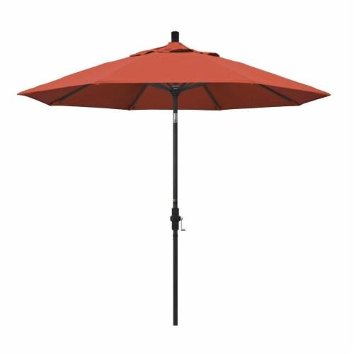 9' Patio Umbrella in Sunset - California Umbrella Perspective: front