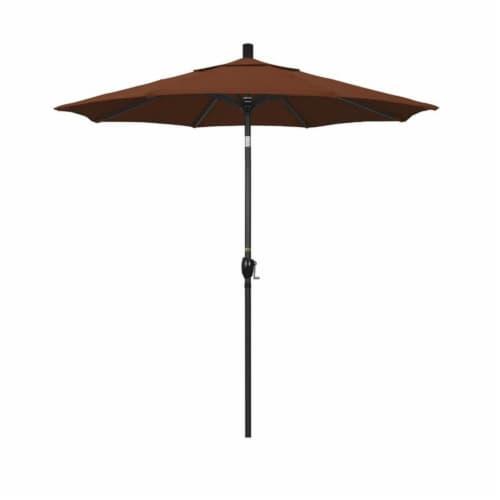 7.5' Patio Umbrella in Terracotta - California Umbrella Perspective: front
