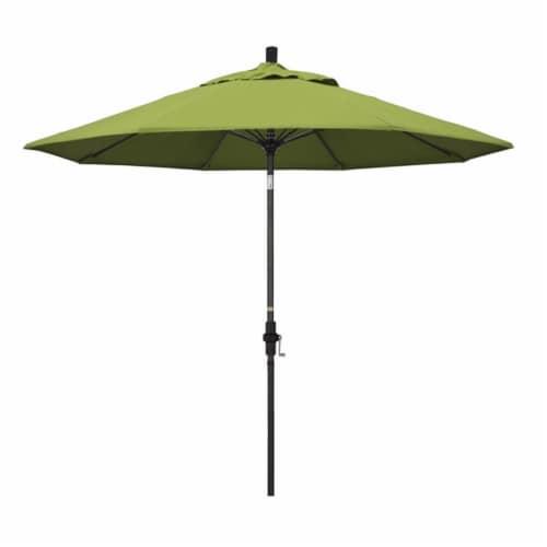 California Umbrella 9' Patio Umbrella in Macaw Perspective: front