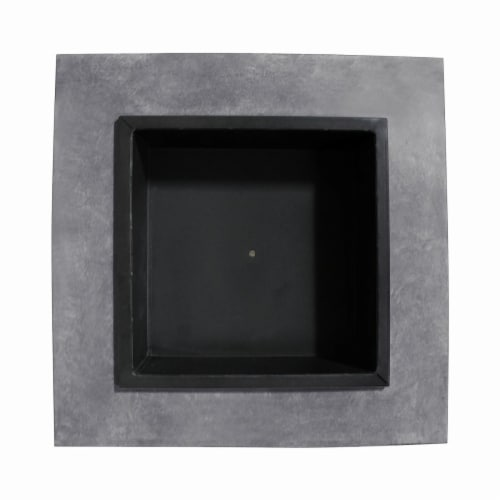 Astella FP200-CE Monolith Fire Nook, Light Gray Cement Perspective: front