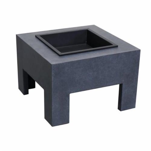 Astella FP200-GR Monolith Fire Nook, Dark Gray Granite Perspective: front