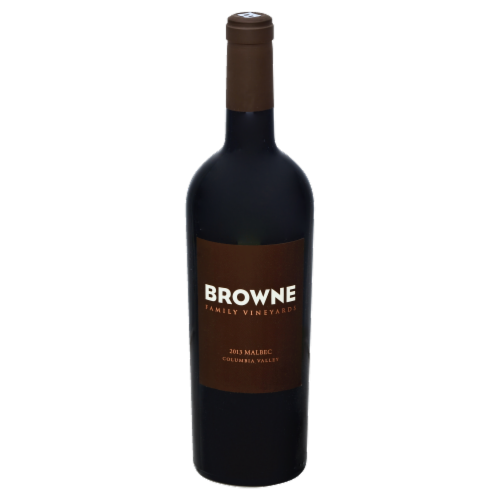 Browne Family Vineyards Malbec Perspective: front