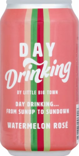 Little Big Town Day Drinking Watermelon Rose Wine Spritzer Perspective: front