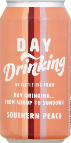 Little Big Town Day Drinking Southern Peach Wine Spritzer Perspective: front