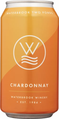 Waterbrook Wine Chardonnay White Wine Perspective: front