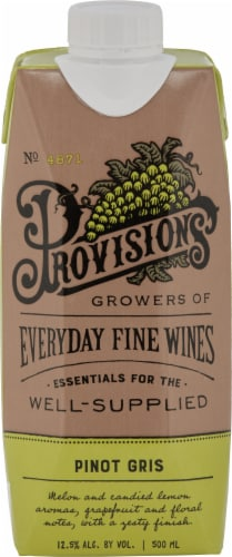 Provisions Pinot Gris Perspective: front