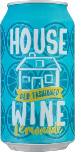 House Wine Old Fashioned Lemonade Wine Can Perspective: front