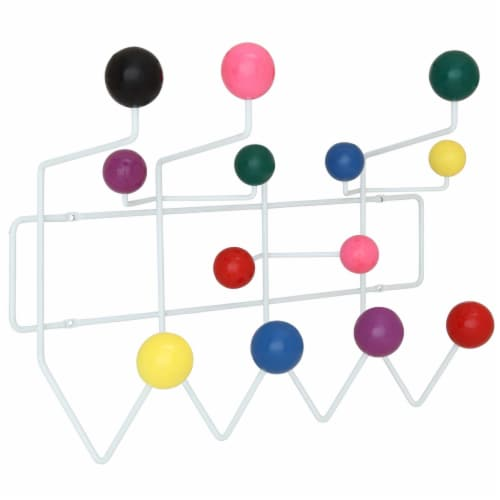 Gumball Coat Rack - Multicolored Perspective: front