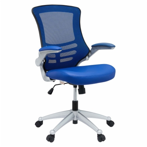 Blue Attainment Office Chair Perspective: front