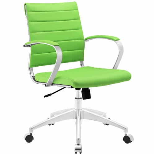Jive Mid Back Office Chair, EEI-273-BGR Perspective: front