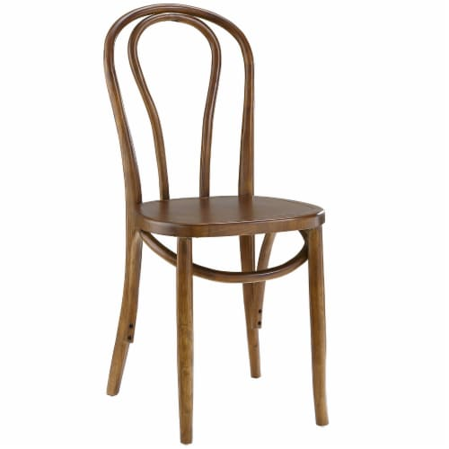 Eon Dining Side Chair - Walnut Perspective: front