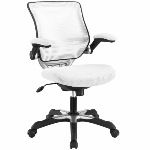 Edge Mesh Office Chair, EEI-594-WHI Perspective: front