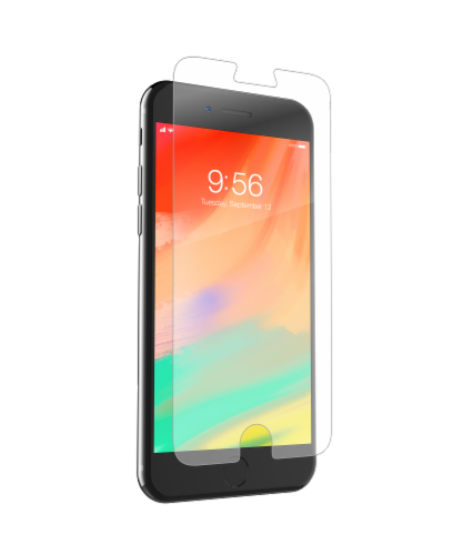 ZAGG InvisibleShield GlassPlus Screen Protector for iPhone 6/6s/7 Plus - Clear Perspective: front
