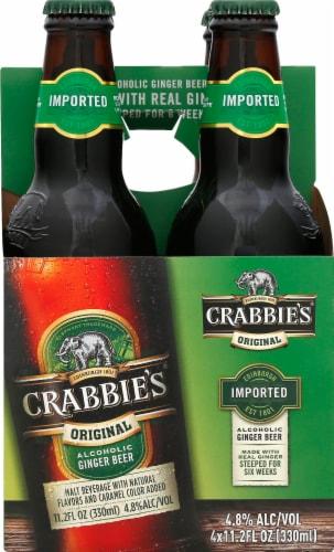 Crabbie's Original Alcoholic Ginger Beer Perspective: front