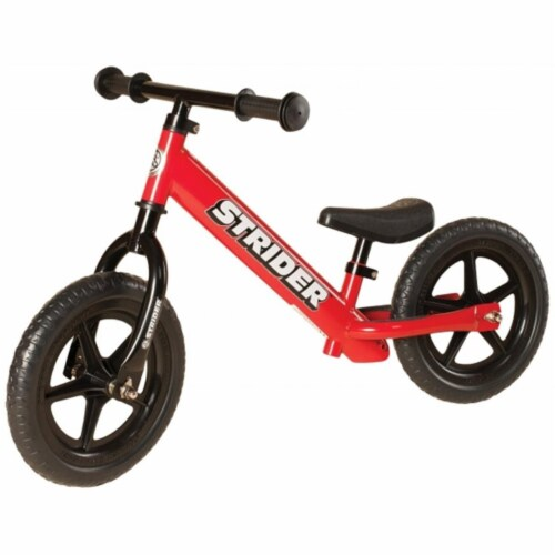 STRIDER 12 Classic No-Pedal Balance Bike - RED Perspective: front