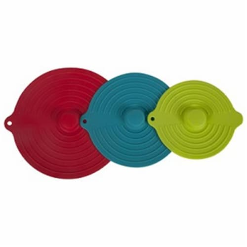 Core Home 220761 Silicone Suction Lid - 3 Piece Perspective: front