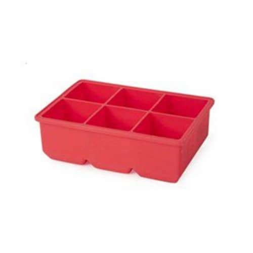 Core Home 255168 6 Ice Cube Flexible Silicon Tray Perspective: front