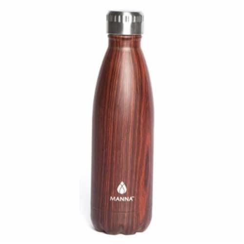 Core Home 230849 17 oz Wood Grain Bottle Perspective: front