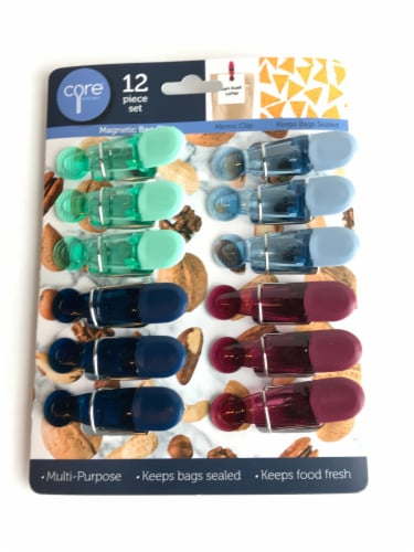 Core Home Magnetic Bag Clips - Assorted Perspective: front