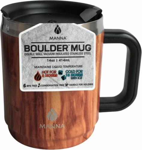 Manna Boulder Mug - Wood Perspective: front
