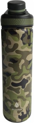Core Ranger Bottle - Green Camo Perspective: front