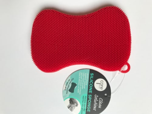 Core Home Silicone Sponge - Red Perspective: front