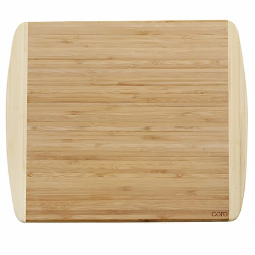 Core Kitchen 6012633 11 x 14 in. Beige Bamboo Cutting Board Perspective: front
