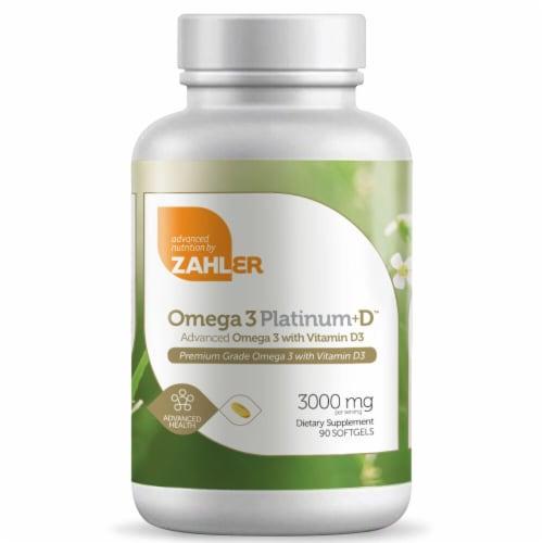 Zahler  Omega 3 Platinum™ Perspective: front