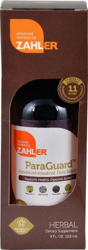 Zahler  ParaGuard™ Advanced Intestinal Flora Support Perspective: front