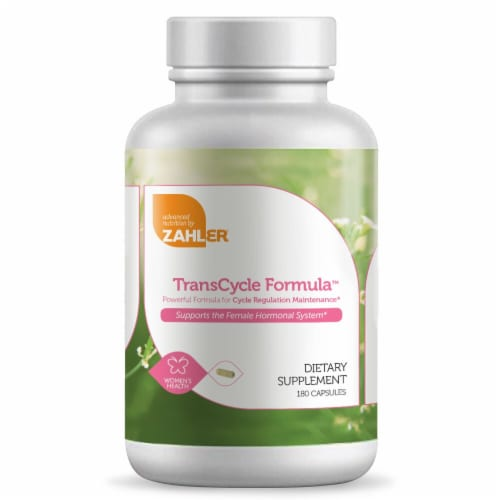 Zahler TransCycle Formula Cycle Regulation Maintenance Dietary Supplement Capsules Perspective: front