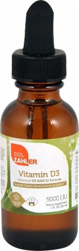 Zahler Vitamin D3 50000IU Perspective: front