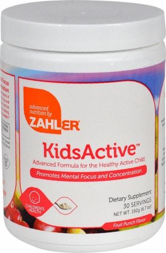 Zahler  KidsActive™ Powder   Fruit Punch Perspective: front