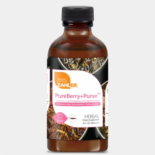 Zahler PureBerry Plus Purse™ Herbal Dietary Supplement Perspective: front