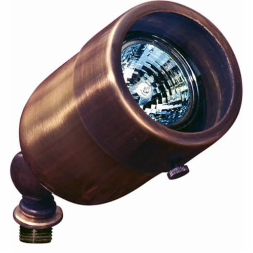 Dabmar Lighting LV29-ABZ Solid Brass Directional Spotlight, Antique Bronze Perspective: front