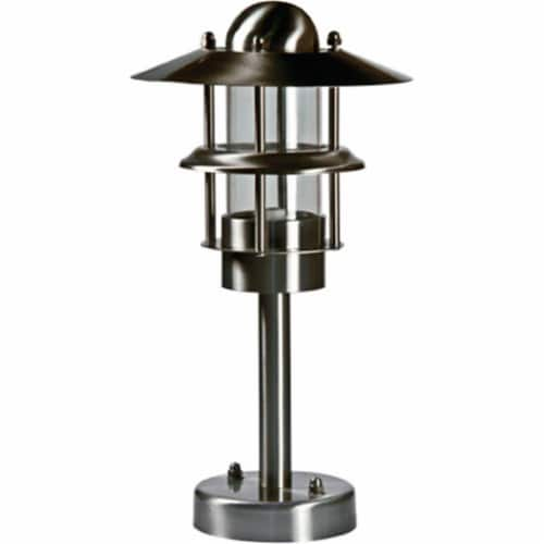Dabmar Lighting LV39 Stainless Steel Accent Light, Stainless Steel Perspective: front