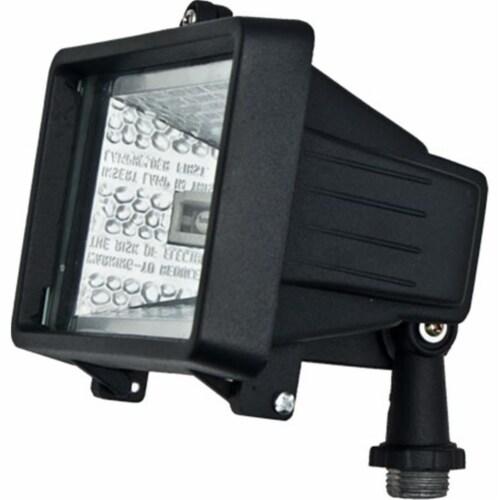 Dabmar Lighting D105-B Cast Aluminum Area Flood Light, Black Perspective: front
