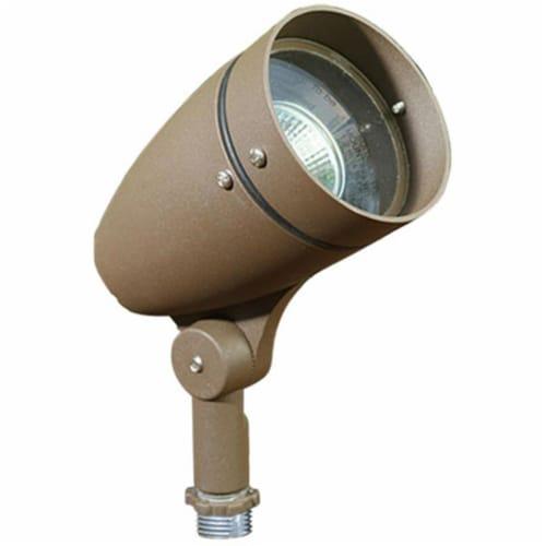 Dabmar Lighting DPR21-BZ Cast Aluminum Directional Spot Light, Bronze Perspective: front