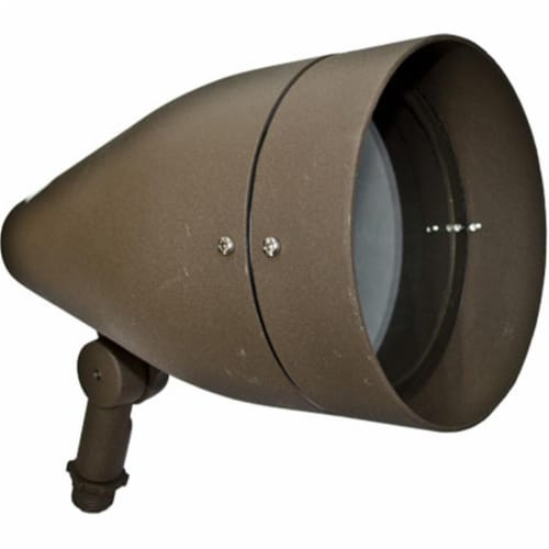 Dabmar Lighting DPR38-GL-BZ Cast Aluminum Directional Spot Light, Bronze Perspective: front