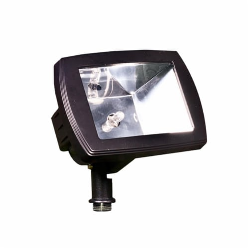 Dabmar Lighting LV105-B Cast Aluminum Directional Area Flood Light, Black Perspective: front