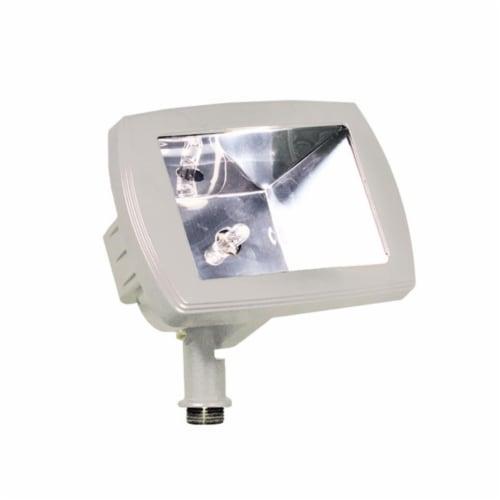 Dabmar Lighting LV105-W Cast Aluminum Directional Area Flood Light, White Perspective: front