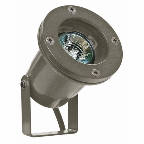 Dabmar Lighting LV108-BZ Cast Aluminum Directional Spot Light, Bronze Perspective: front