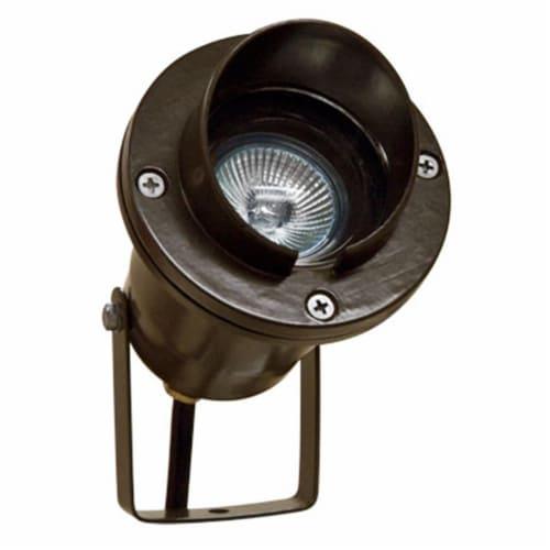 Dabmar Lighting LV109-BZ Cast Aluminum Directional Spot Light with Hood, Bronze Perspective: front